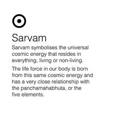 Meaning of Sarvam