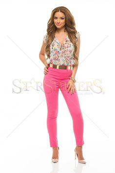 PrettyGirl Wishes Pink Jumpsuit