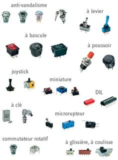 Types des interrupteurs ~ Cours D'Electromécanique