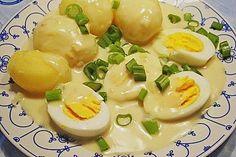 Eier in Senfsoße 1