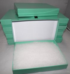 10 Pack of Tiffany Blue Jewelry Presentation by wrappingmeup, $7.50