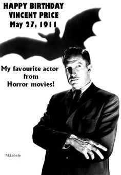 Vincent Price birthday