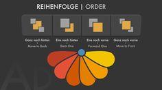 #10 Quicktips Affinity Designer - Reihenfolge mit Maus oder Tastatur   Order with mouse or keyboard