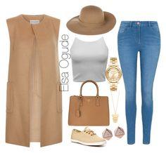 """Street Fashion"" by elsaogude on Polyvore featuring Monsoon, George, Keds, Prada, Armani Jeans, Michael Kors, FOSSIL and Gorjana"