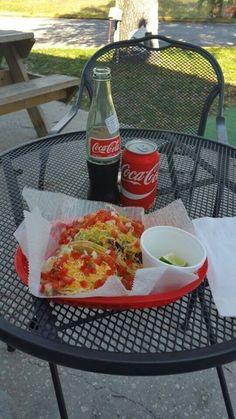 Tacos count as #brunch right? @CaliTacosTG would like to think so! #lime #tacos #shareacoke