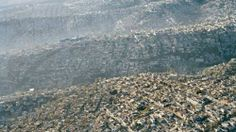 Slums on the outskirts of Mexico City