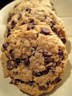Vegan Oatmeal Chocolate Chip Cookies   Adventures of a Hungry Redhead