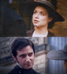 Daniela Denby-Ashe (Margaret Hale) & Richard Armitage (Mr. John Thornton) - North & South (TV, Mini-Series, 2004) #elizabethgaskell