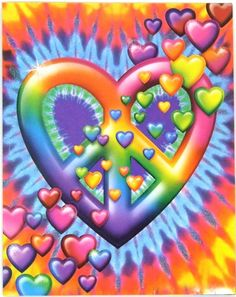 Lisa Frank Peace Sign - All About Women Hippie Peace, Happy Hippie, Hippie Love, Hippie Chick, Hippie Things, Hippie Music, Lisa Frank, Peace Love Happiness, Peace And Love