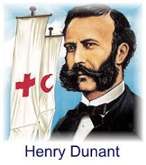 Henri Dunant - founder of the Red Cross: 'Think like a man of action…