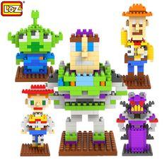 LOZ  Story Action Figures Diamond building blocks Educational Toys for Children Christmas gifts toys for children For Kids 8+
