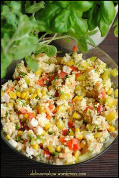 Salad Recipes, Snack Recipes, Healthy Recipes, Chicken Egg Salad, Appetizer Salads, Appetizers, Rice Salad, Food Salad, Polish Recipes