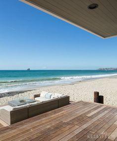 Dana Point, California Beach House Coastal Deck