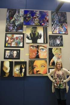 High School art images.... great images to help with lesson ideas