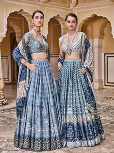 Anita dongre indigo lehenga with pocketsYou can find Anita dongre and more on our website.Anita dongre indigo lehenga with pockets Pakistani Wedding Dresses, Indian Wedding Outfits, Indian Dresses, Indian Outfits, Pakistani Bridal, Indian Bridal, Indian Lehenga, Lehenga Designs, Indian Designer Outfits