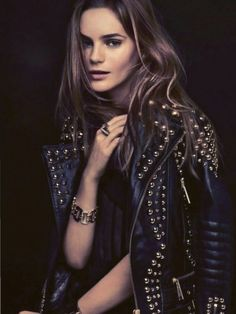 There's nothing quite like a Burberry bomber and this one, covered in studs, is just rock-chick cool. At around £4000 it's the cost of a luxury holiday but you'll smile every time you don this special number and you can fantasize about where you're going to go in it, over and over again....x