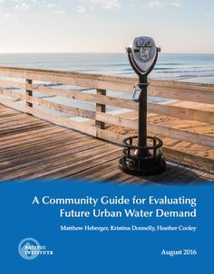 A Community Guide for Evaluating Future Urban Water Demand
