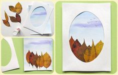 Best Ideas leaf art projects for kids autumn Craft Work For Kids, Projects For Kids, Diy For Kids, Art Projects, Crafts For Kids, Autumn Crafts, Nature Crafts, Autumn Art, Autumn Activities For Kids