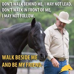 """#horseriding #horserider #equine """"Don't walk beside me, I may not lead. Don't walk in front of me, I may not follow. Walk beside me and be my friend."""""""