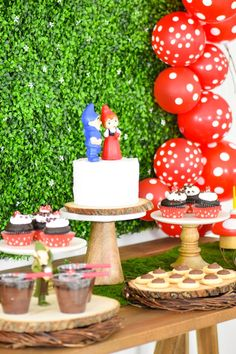Sherlock Gnomes party ideas celebrating the movie #SherlockGnomes coming to theaters on March 23rd! See all the details on KarasPartyIdeas.com! #sponsored