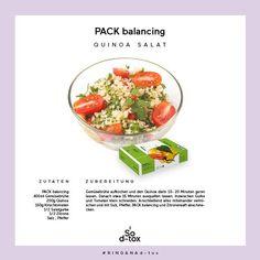 La quinoa è uno degli ingredienti del PACK balancing (alcalinizzante) ed è un ingrediente della ricetta odierna #consigliodtox. Quando il brodo bolle, aggiungere la quinoa e lasciarla cuocere per 15 – 20 minuti. Poi lasciare riposare per 15 minuti. Intanto tagliare un cetriolo e qualche pomodoro a pezzi (estiva, per ora scegliete verdura di stagione). Aggiungere alla quinoa, regolare di sale, pepe, succo di limone e aggiungere il PACK balancing. Trovate il pack balancing su… Tinted Moisturizer, Moisturiser, Fresh Lip Balm, Quinoa Salat, Fresh Cream, Deodorant, Potato Salad, The Balm, Pure Products