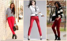 С ЧЕМ НОСИТЬ КРАСНЫЕ ДЖИНСЫ  Джинсы – самая популярная одежда в женском гардеробе. При этом постоянно появляются новые модели, и каждая модница стремится подобрать идеальный для себя наряд. И сейчас девушек волнует, с чем носить красные джинсы, ведь они как раз пользуются популярностью.  Наиболее броский, эффектный и притягивающий взгляды мужчин образ легко создать при помощи красного цвета. Но с этим ярким цветом не всё так просто, как может показаться. Ведь сама по себе одежда красного…