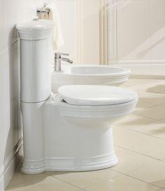 Inodoro y Bidé Amadea hecho con Cerámic Plus. #Villeroyboch #Villeroyboches #innovación #inodoros #lavabos #bañeras #platosdeducha #tendencia #Premium #viclean #washlet #inorodo-bide #inspiración #diseño #lujo #estilo #bath #CeramicPlus