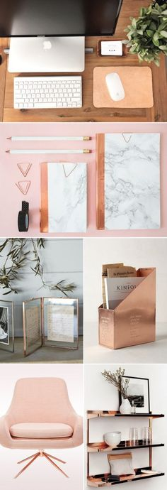 Can't Get Enough of Rose Gold! 30 Trendy Rose Gold Home Décor Ideas