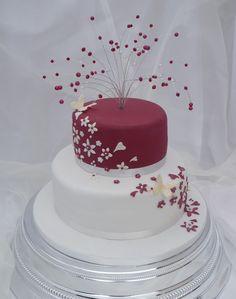boda sencilla ideas para las mesas de la torta