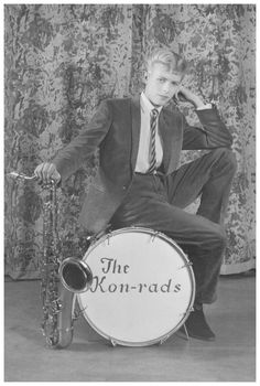 David Bowie, promotional shoot for The Kon-rads, 1963 Roy Ainsworth