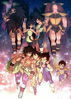 Path of Light (By : dbz Dragon Ball Gt, Dragon Ball Image, Fanarts Anime, Anime Characters, Broly Ssj4, Goten E Trunks, Kai, Japon Illustration, Animes Wallpapers