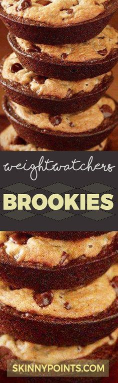 Yummy Brookies - Weight watchers Smart Points (scheduled via http://www.tailwindapp.com?utm_source=pinterest&utm_medium=twpin&utm_content=post188161171&utm_campaign=scheduler_attribution)