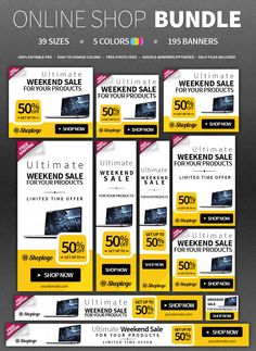 free banner ads design a series of smart banner ads in photoshop