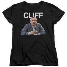"""Checkout our #LicensedGear products FREE SHIPPING + 10% OFF Coupon Code """"Official"""" Cheers / Cliff - Short Sleeve Women's Tee - Cheers / Cliff - Short Sleeve Women's Tee - Price: $29.99. Buy now at https://officiallylicensedgear.com/cheers-cliff-short-sleeve-women-s-tee"""