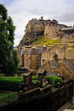 Edinburgh, Scotland - Edinburgh Castle at the top of Royal Mile.  LOVE this place!!