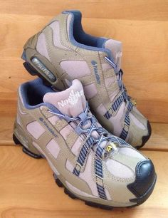 Nautilus Khaki Blue Safety footwear Work Sneaker Womens Shoe 7 M N1354  Alloy Toe | eBay