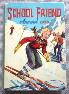 Excited to share this item from my shop: Vintage School Friend Annual Collectible Girls' Annual. Vintage Children's Books, Vintage Comics, Story Titles, Classic Girl, Vintage School, Picture Story, Paperback Books, Fashion Pictures, Comic Strips