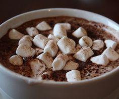 marshmallows & hot chocolate