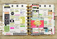 'Today I Choose Joy' weekly spread in Create365™ The Happy Planner™ by mambi Design Team member Stephanie Buice   me & my BIG ideasreate 365™ The Happy Planner™ March HAPPINESS weekly spread by mambi Design Team member Candi Billman   me & my BIG ideas