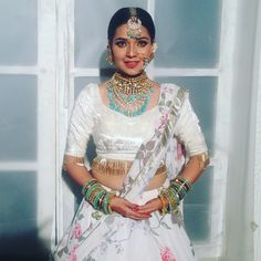 New era bride Indian Attire, Indian Wear, Indian Dresses, Indian Outfits, Desi Wedding Dresses, Indian Lehenga, Lehenga Saree, Indian Designer Outfits, Designer Dresses