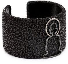 Borgioni Buddha Stingray Cuff Bracelet | GlobalFeri.com Fine and Fashion Jewelry