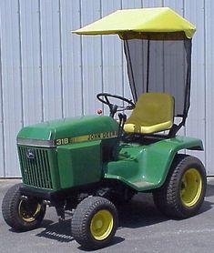 Original Tractor Cab Sunshade Fits John Deere 300 & 400 Series Lawn Tractors