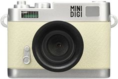 GREEN HOUSE 30万画素 ミニデジタルトイカメラ MINI DIGI ホワイト&シルバー GH-TCAM30CW