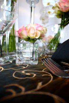 Decor It has been designing many of Melbourne's glamorous and visually stunning weddings, parties and events. Wedding Lunch, Crystal Candelabra, Wedding Decorations, Table Decorations, Table Linens, Event Decor, Pink Roses, Melbourne, Glass Vase