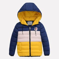 Kids Coat 2018 New Spring Winter Boys Jacket For Boys Children Clothing Hooded Outerwear Baby Boys Clothes 5 6 7 8 9 10 Years Boys Winter Coats, Kids Coats, Winter Clothes, Baby Boy Outfits, Kids Outfits, Kids Winter Fashion, Kids Fashion, Fashion Coat, Baby Girl Jackets
