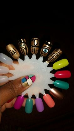 Egyptian nails wheel