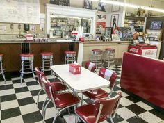 Old-fashioned soda counter at Lovelace Drug Store in Ocean Springs, MS Ocean Springs Mississippi, Mississippi Queen, Tours New Orleans, American Diner, Mini Vacation, Road Trip Hacks, Down South, Best Places To Travel, Coast