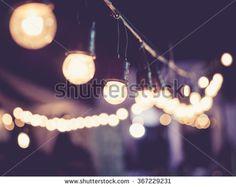 Lights decoration Event Festival outdoor Vintage tone