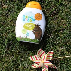 Get those grubby little Gruffalos in the garden this weekend. Then finish off with a Prickly Pear scented bath to scrub them all clean #weekend #Gruffalo #goodbubble