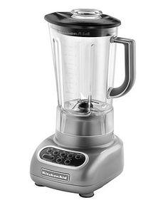 KitchenAid KSB560 Blender, 5 Speed - Electrics - Kitchen - Macy's (Color: Contour Silver)